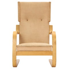 Birch Wingback Lounge Chair by Alvar Aalto for Artek