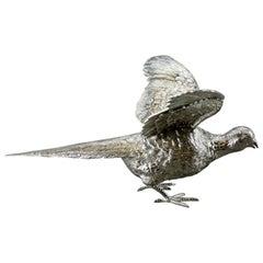 Bird Figurine, Silver, C J Vander LTD, U.K, 2018