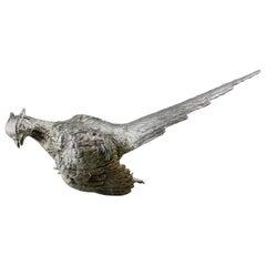 Bird Figurine, Silver, C J Vander LTD, U.K., 2018