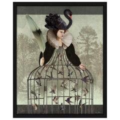 Bird Queen Digital Painting