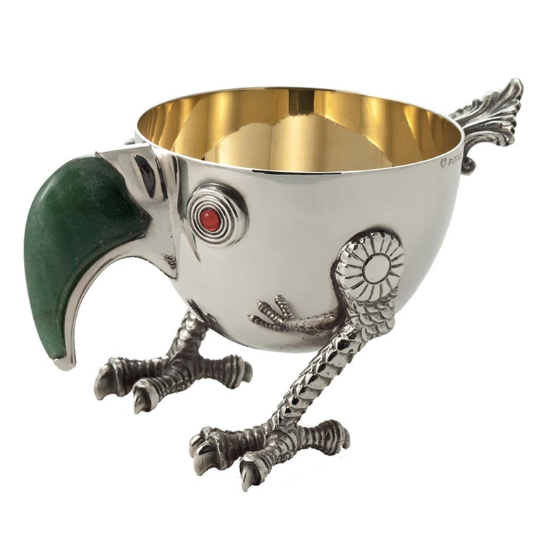 Italian Bird Small Bowl For Sale