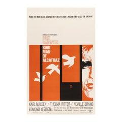 'Birdman of Alcatraz' Original Vintage US One Sheet Movie Poster, 1962