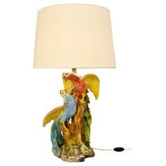 Birds Ceramic Table Lamp
