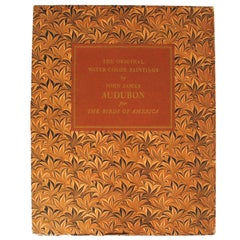 Birds of America by John James Audubon, Vol. I & II, First Edition