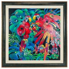 """Birds of Paradise"" Jiang Tiefeng"