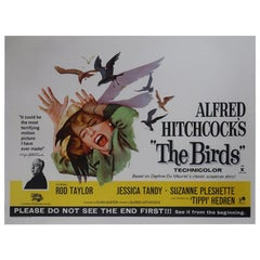 """""""The Birds,"""" 1963 Poster"""