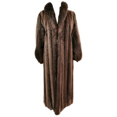 Brand new Birger christensen beaver fur coat size 14