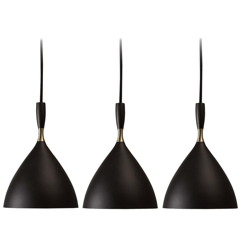 Birger Dahl Pendants in the Style of Stilnovo For Sale