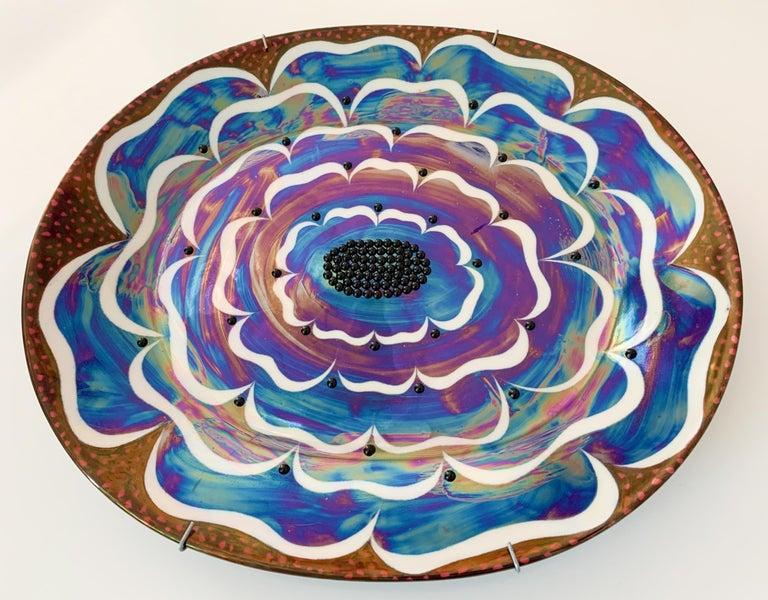 Scandinavian Modern Birger Kaipiainen, Ceramic Wall-Platter