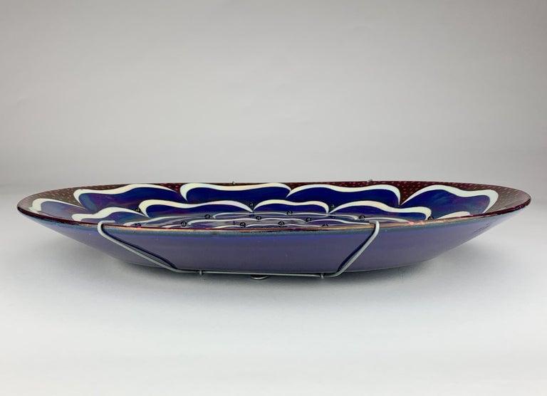 Glazed Birger Kaipiainen, Ceramic Wall-Platter