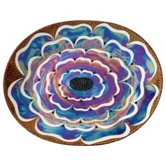 "Birger Kaipiainen, Ceramic Wall-Platter ""Florence"", Arabia Pro Arte, Finland"