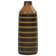 Birger Larsson Floor Vase Produced by Wallåkra in Sweden