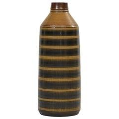 Birger Larsson Floor Vase Produced by Wallåkra in Sweden