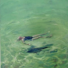 Swimmer II sea  cm. 30 x 30  2016