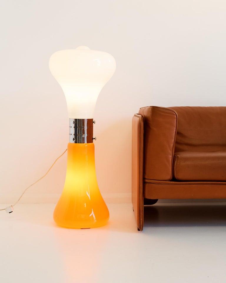 "Mid-Century Modern ""Birillo"" Floor lamp by Carlo Nason for Mazzega, 1970 For Sale"