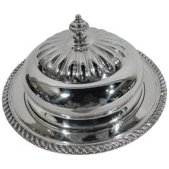 Birks Georgian-Style Sterling Silver Covered Butter Dish