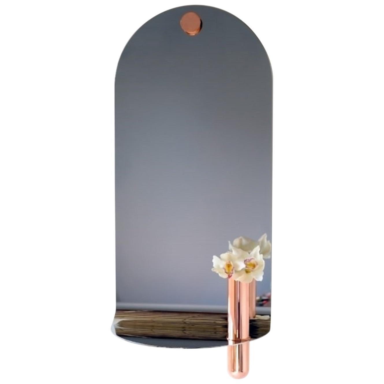 Stainless Swoop Mirror, Birnam Wood Studio