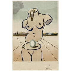 Birth of Venus Lithograph by Salvador Dalí