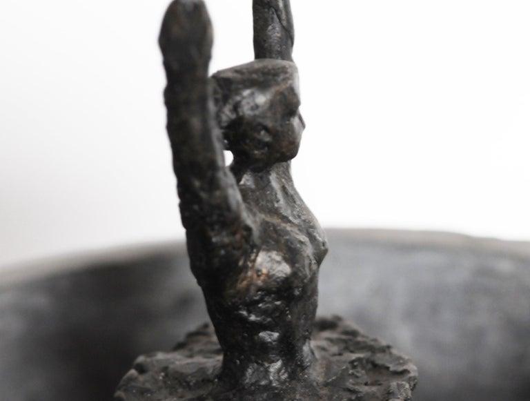 Epoxy Resin 'Birth of Venus Williams' Cast Bronze Sculpture by David Bender For Sale
