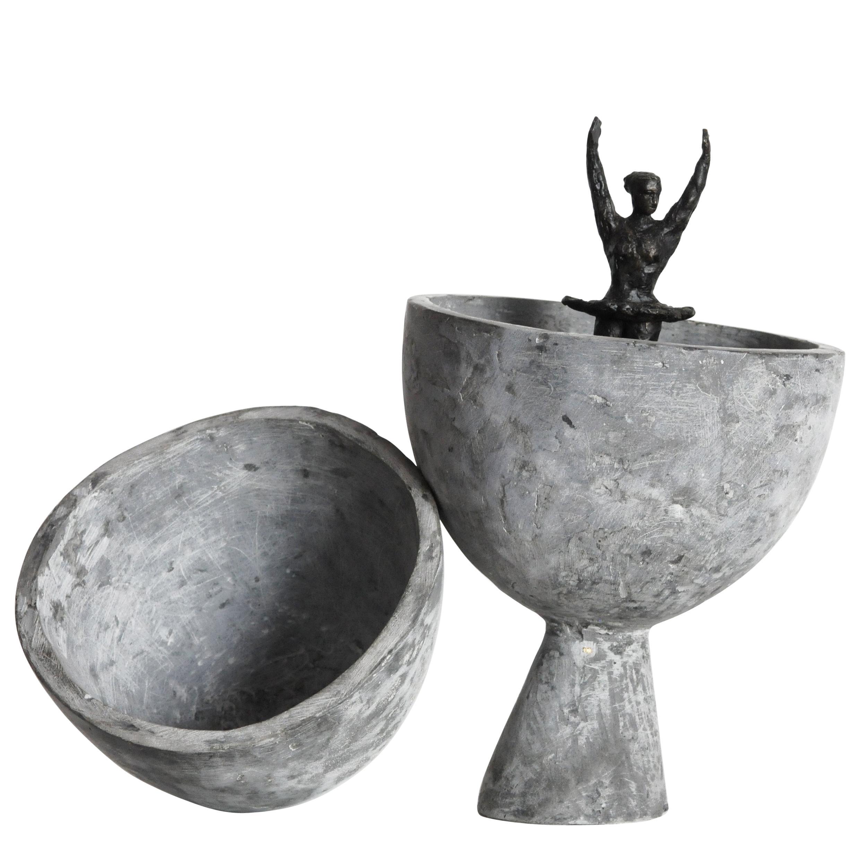'Birth of Venus Williams' Cast Bronze Sculpture by David Bender