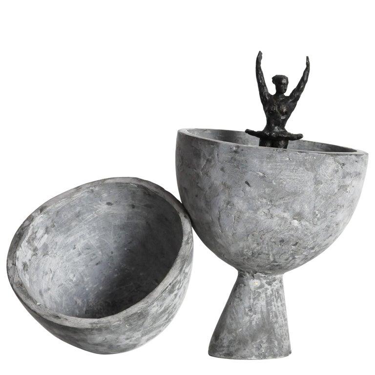 'Birth of Venus Williams' Cast Bronze Sculpture by David Bender For Sale