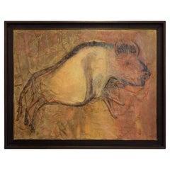 Bisonte Painting by Lola Vitelli