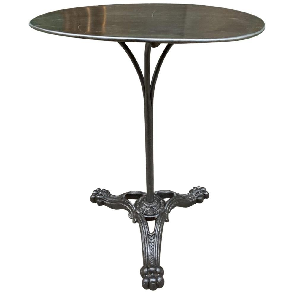 Bistro or Café Table, Early 1900s, France
