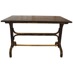 Bistro Table with Stone Top