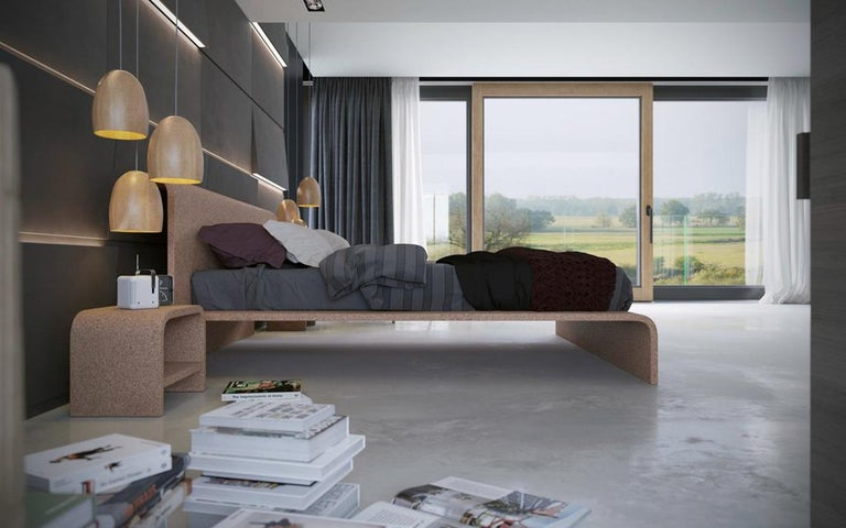 BISU Cork Bed Frame by OTQ For Sale 1
