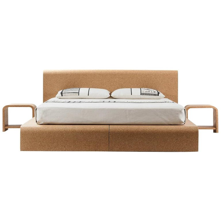 BISU Cork Bed Frame by OTQ For Sale