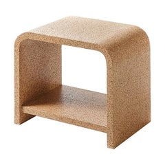 Bisu Cork Bedside by Otq, 2 Pieces