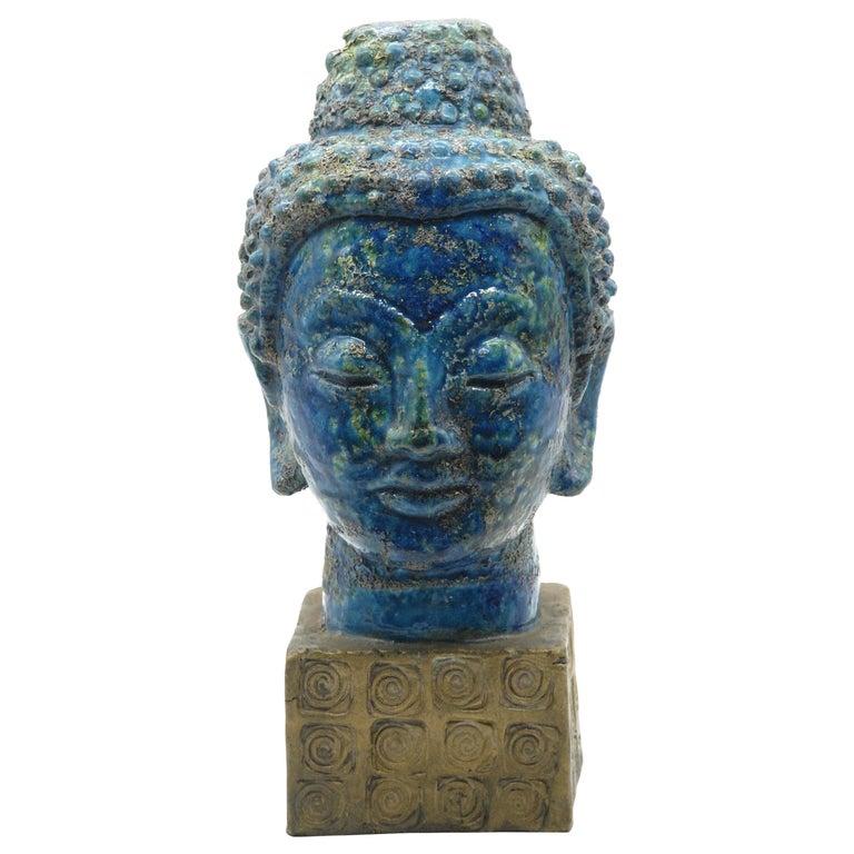 Bitossi Aldo Londi 'Cinese' Glaze Buddha, Italy, circa 1968 For Sale