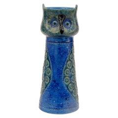 Bitossi Aldo Londi Owl Italy, circa 1968