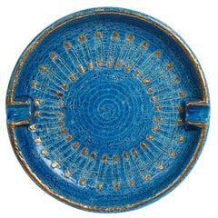 Bitossi Ashtray, Ceramic Safety Pins, Signed