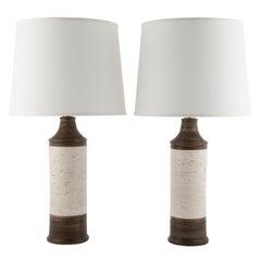 "Bitossi ""Birch"" for Bergboms Ceramic Table Lamp, circa 1960s"