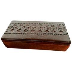 Bitossi Ceramic Brown Box