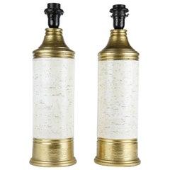 Bitossi ceramic Lamps Italy 1970
