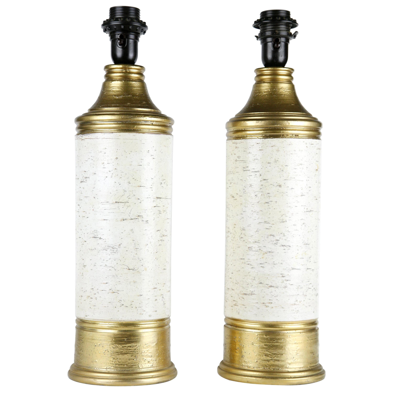 Bitossi Ceramic Lamps, Italy, 1970