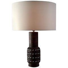 Bitossi Ceramic Mid-Century Modern Table Lamp by Aldo Londi