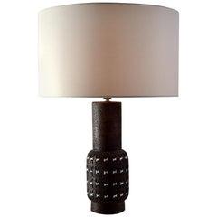 Bitossi Ceramic Mid-Century Modern Table Lamp by Aldo Londi