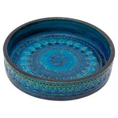 Bitossi Ceramic Rimini Blue Designed by Aldo Londi, Italy