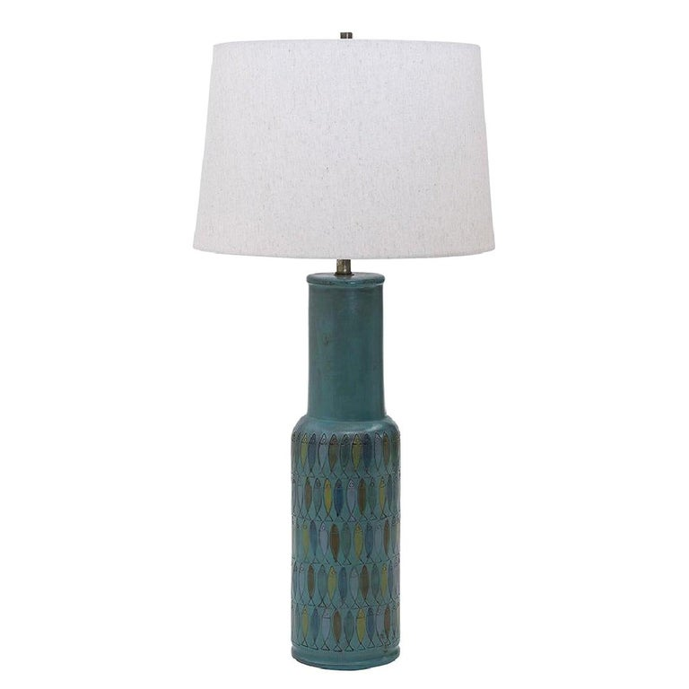Bitossi Ceramic Table Lamp, Italy, c. 1960s For Sale