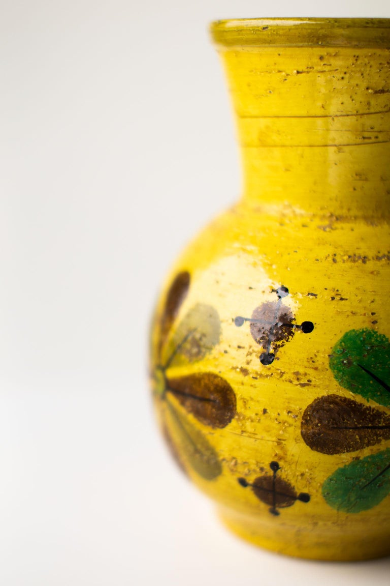 Pottery Bitossi Flower vase for Rosenthal Netter
