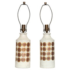 Bitossi for Bergboms Table Lamps, a Pair