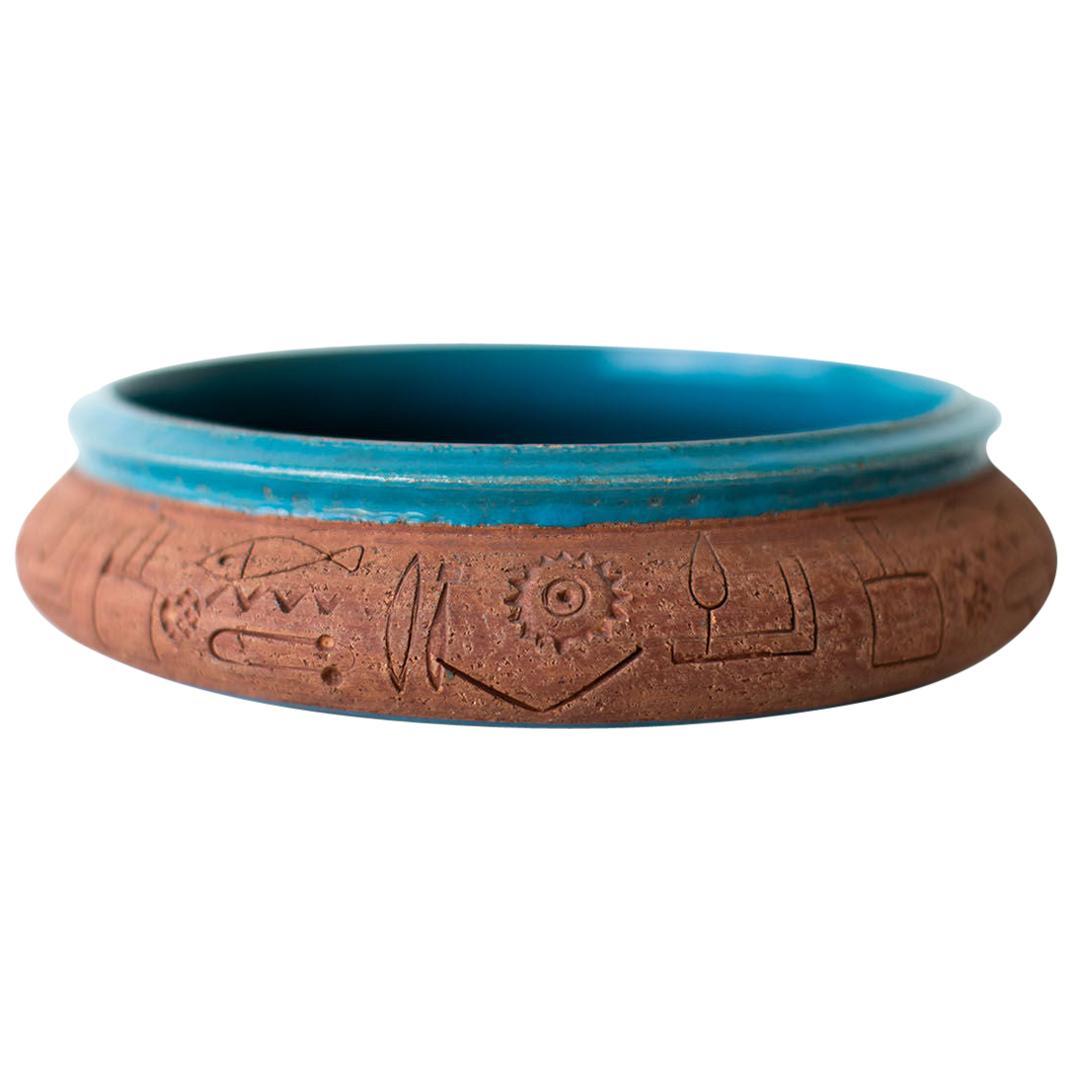 Bitossi for Raymor Italian Pottery Bowl