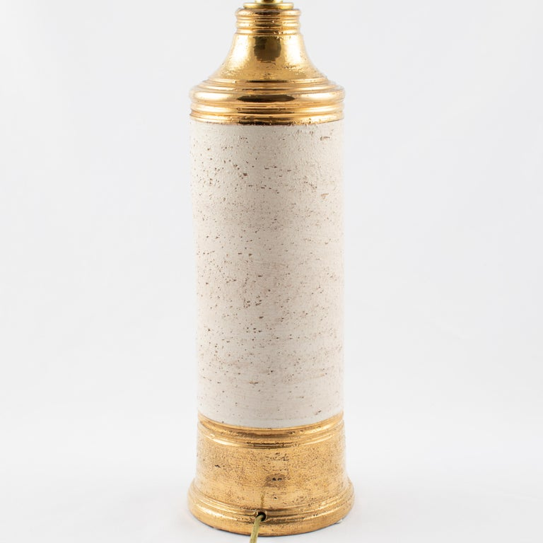 Mid-20th Century Bitossi Gold