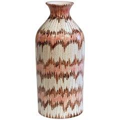 Bitossi Italian Pottery Early V-Mark Londi Raymor Vase Vintage 1950s Ceramic