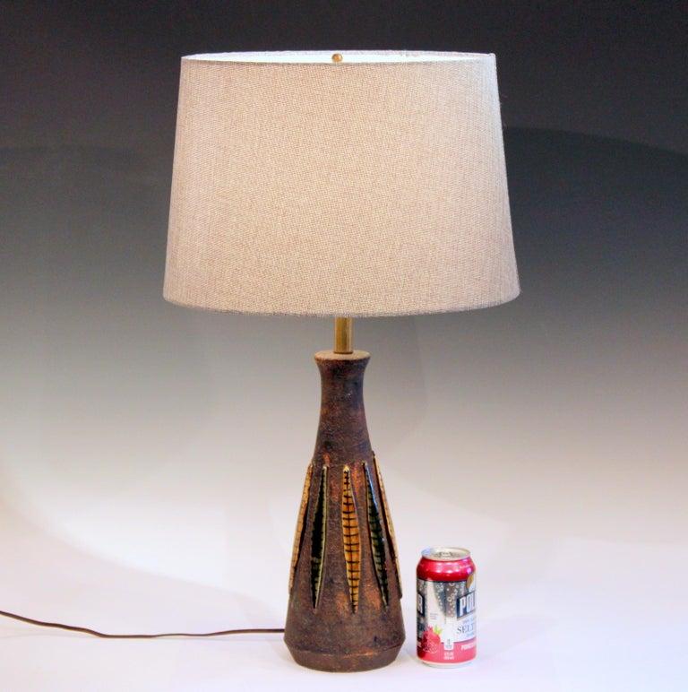 Bitossi Pottery Londi Vase Italian Raymor Ceramic 1960s Lamp For Sale