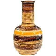 Bitossi Raymor Large Rimini Sahara Decor Vase Italian Pottery Ceramic MCM