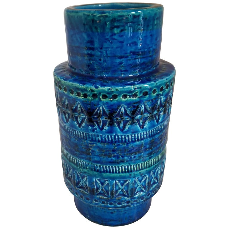 Bitossi Vase By Aldo Londi For Sale At 1stdibs